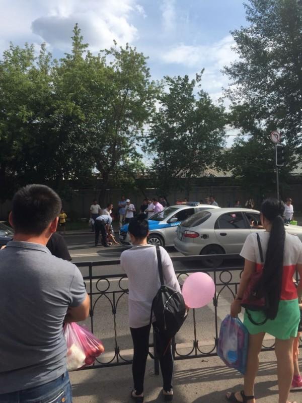 Астанада балаларды қағып кеткен полицейге қатысты қызметтік тексеріс жүргізіледі