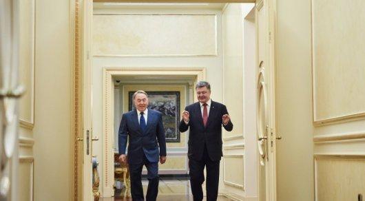 Украина президентінің ресми сайтынан алынды