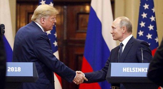 Трамп Путинмен қарым-қатынасын жақсартқанын мәлімдеді