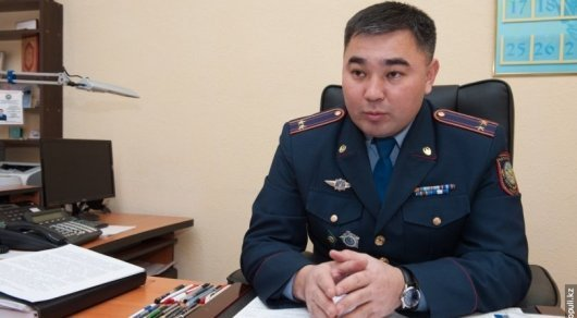 Алматыда жергілікті полиция қызметінің басшысы жұмысынан босатылды