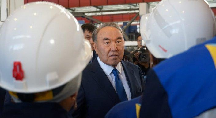 Назарбаев Қарағандыға барды