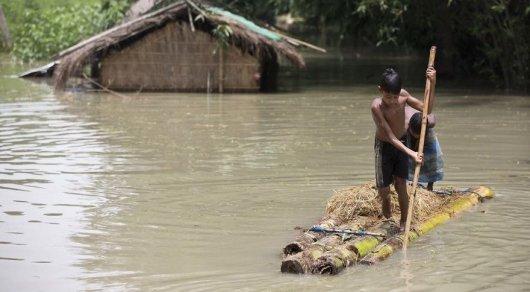 Үндістанда 13 мың адам су тасқынынан зардап шекті