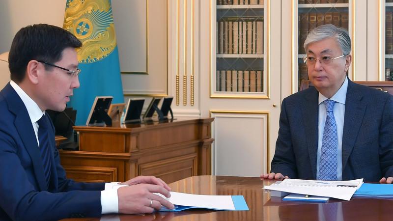 Жұмағалиев Тоқаевқа ауылдарда интернет орнатуға уәде берді