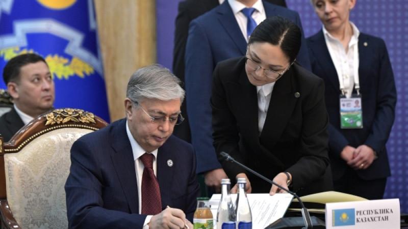 Қасым-Жомарт Тоқаев жаңа заңға қол қойды