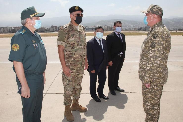 Қазақстанның әскери дәрігерлері Бейрутқа ұшып келді