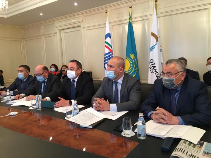 Өзбекстанда қазақтардың кіші құрылтайы өтті